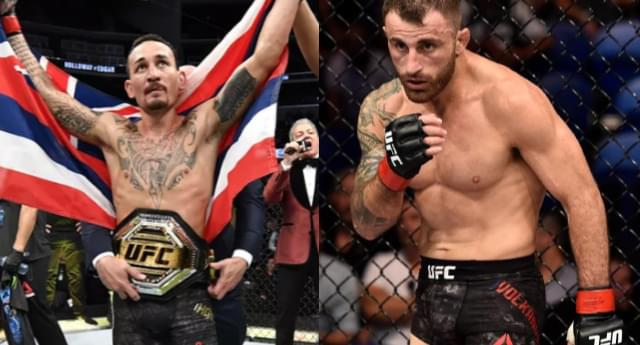 Interview with Max Holloway ahead of UFC 245