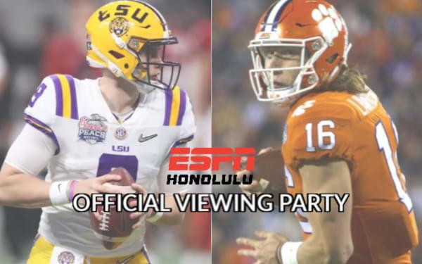 CFP National Championship Viewing Party