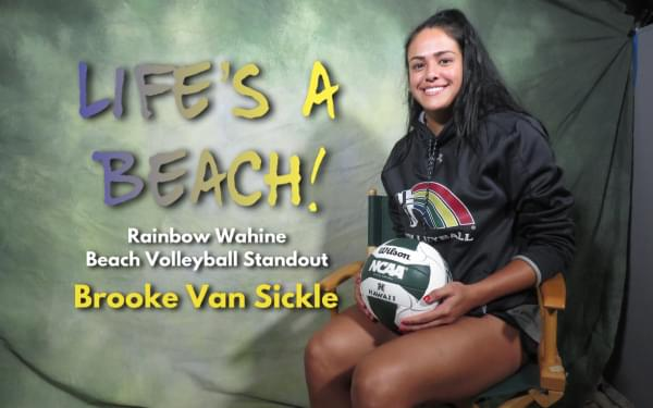 Taraflex to the sand: Brooke Van Sickle