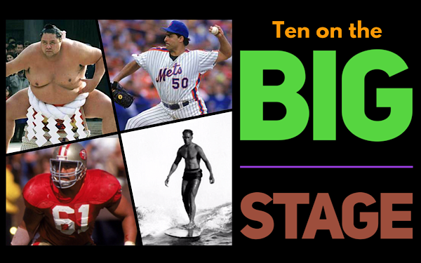 Top 10: Hawaii's Big Stage Players