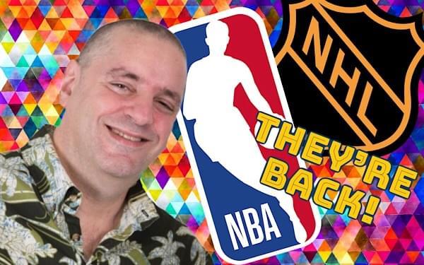 Gary's Blog: the NBA, NHL Return