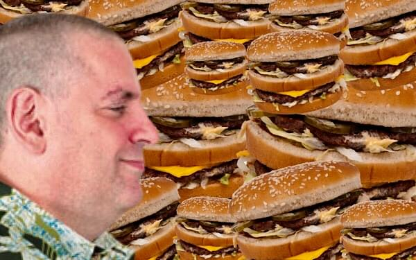 "Gary's Blog: ""My Big Mac Attack"""