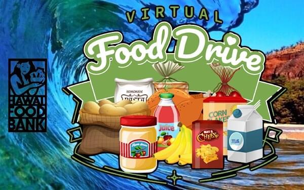 This Saturday: Virtual Food Drive