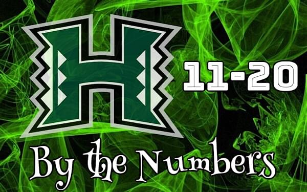 The Numbers Game: 11-20