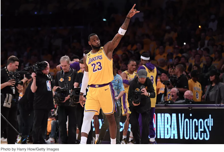 Curran Events: LeBron James, A.D., and the Lakers