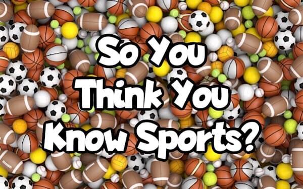 Sunday Sports Quiz