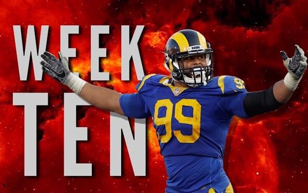 Week 10 Top Plays