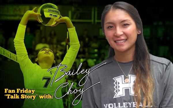 Tomorrow: Bailey Choy