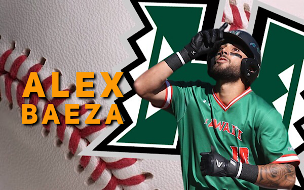 Tomorrow: Alex Baeza