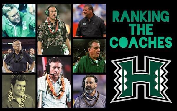 Ranking the UH Football Coaches