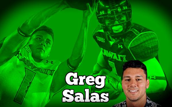 Tomorrow: Greg Salas