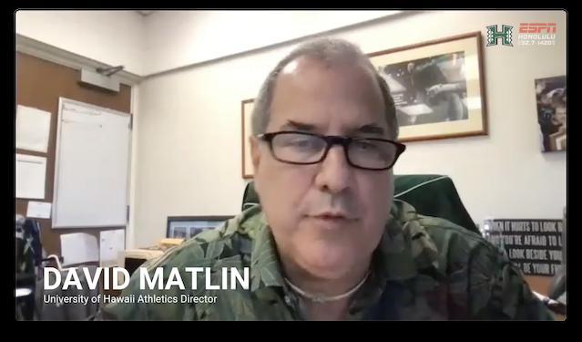 Press Conference: David Matlin