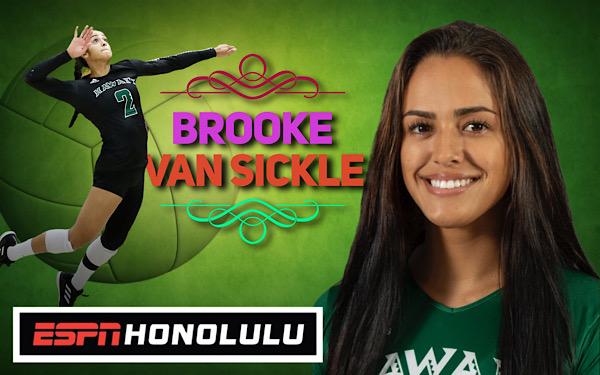 Tomorrow: Brooke Van Sickle