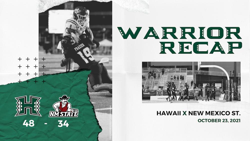 Hawaii 48, NMSU 34