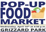 Pop-up food market at Grizzard Park scheduled for Wednesday the 14th