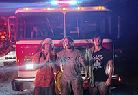 Trion Fire Department rescues lost hikers