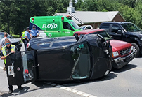 [VIDEO] Two-Vehicle Accident on Hwy 293 at Moran Lake Road NE