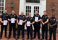 Calhoun Police honor several officers for heroism