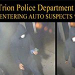 Trion Police Looking For Car Break-In Thieves