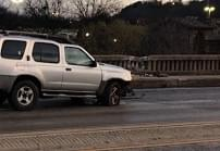 [VIDEO] Icy spots cause wrecks on Turner McCall bridges Wednesday morning