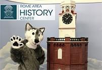 Capi the Wolf mascot