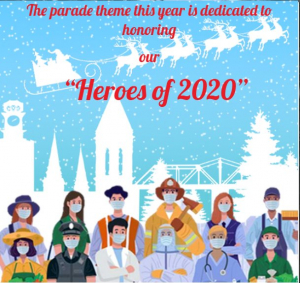 Rome Christmas Parade 2020 Guidelines announced for the 2020 Rome Christmas Parade   WRGA