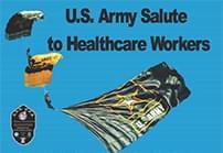 US Army Parachute Demonstration at Redmond Regional Medical Center on Thursday: