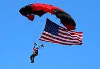 featured parachute Redmond WRGA