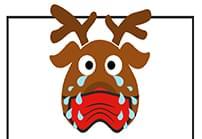 featured sad reindeer