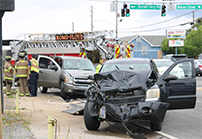 featured two vehicle wreck