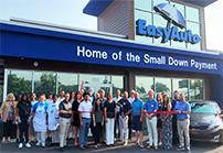 featured Easy Auto ribbon cut