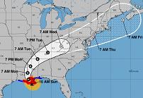 hurricane cone