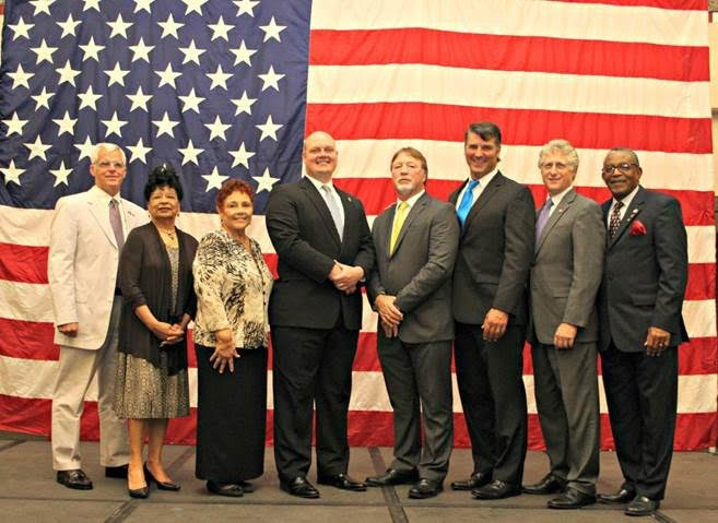 Mayor Nic Hunter and Lake Charles City Council Sworn Into Office