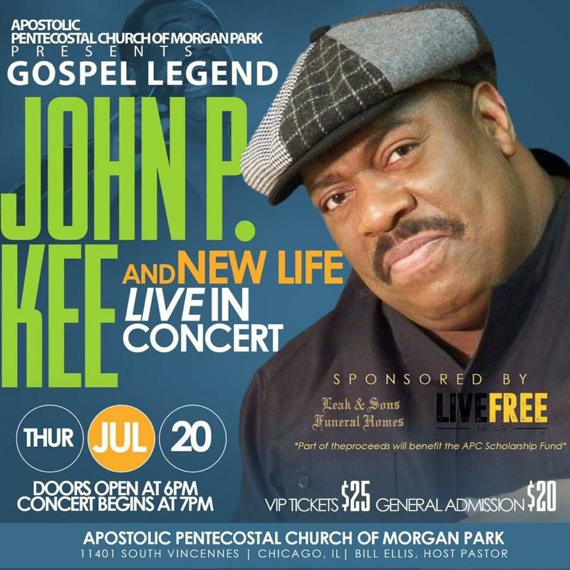 Gospel Extraordinaire, John P. Kee, Headlines #LiveFree Chicago Event