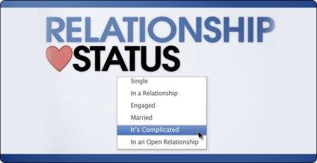 In a relationship, it's complicated or engaged?
