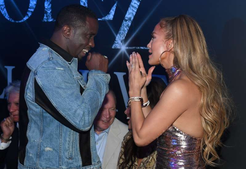 Diddy Makes Appearance at JLo's Last Las Vegas Show