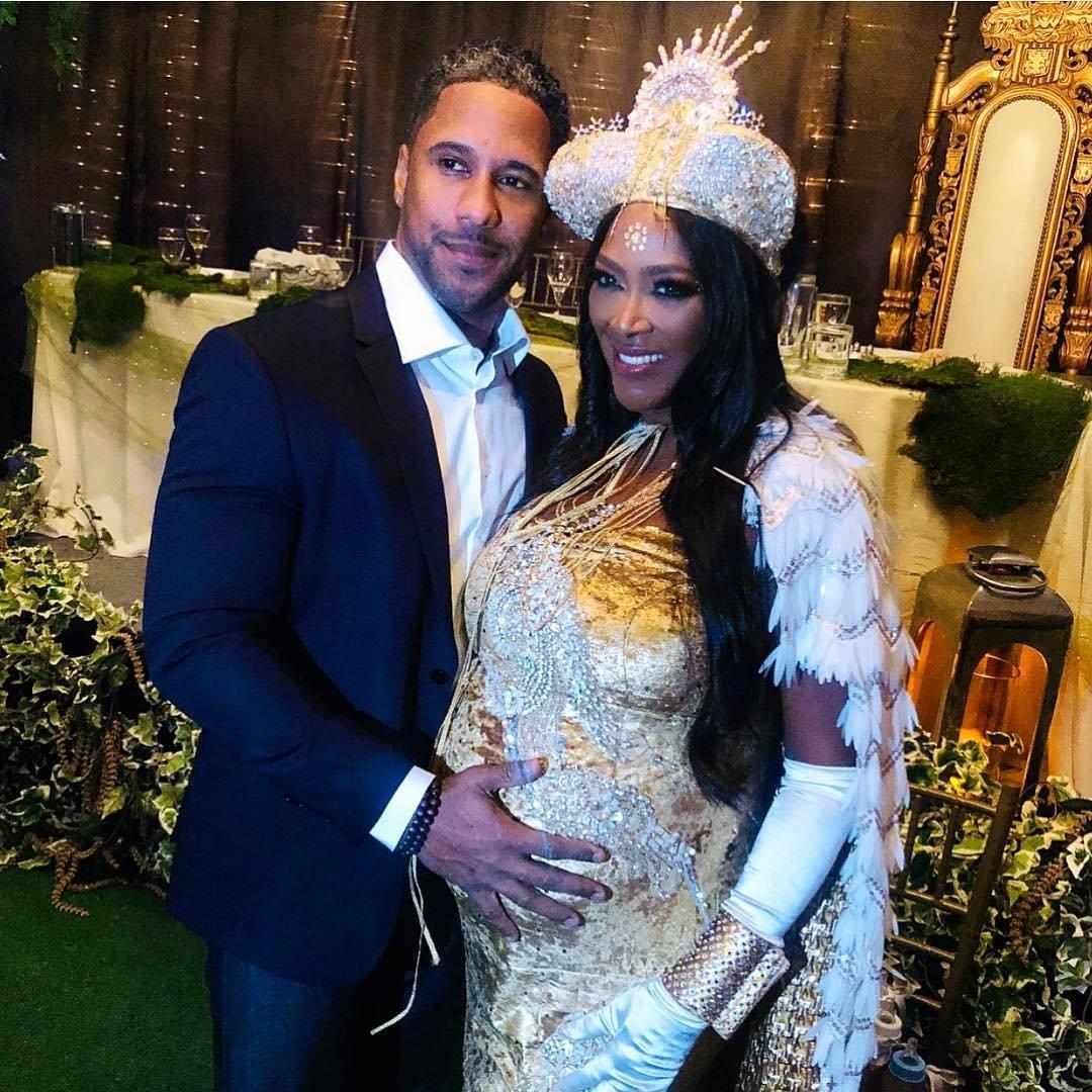 Kenya Moore Hosted Baby Shower