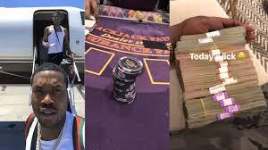 MEEK MILL: Big Win at a Casino