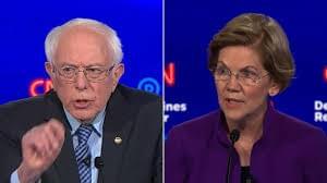 DEMOCRATIC DEBATE: Sanders and Warren Dramatic Debate