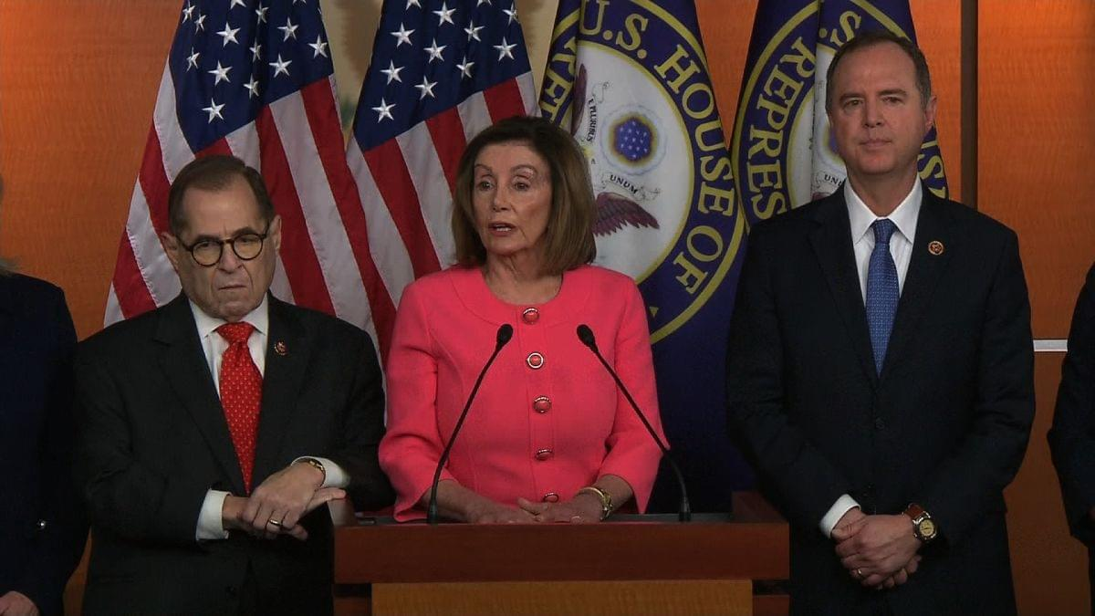 IMPEACHMENT: Nancy Pelosi Announce House Managers