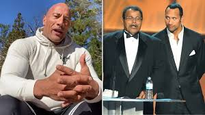 """DWAYNE JOHNSON: Father Died of """"Massive Heart Attack"""""""