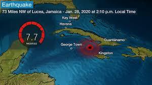 JAMAICA: 7.7 Earthquake Shakes Up Coast