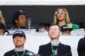 JAY-Z, BEYONCE: Remained Seated During National Anthem