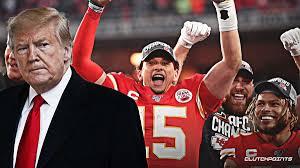 DONALD TRUMP: Congratulates the Chiefs for Super Bowl Win