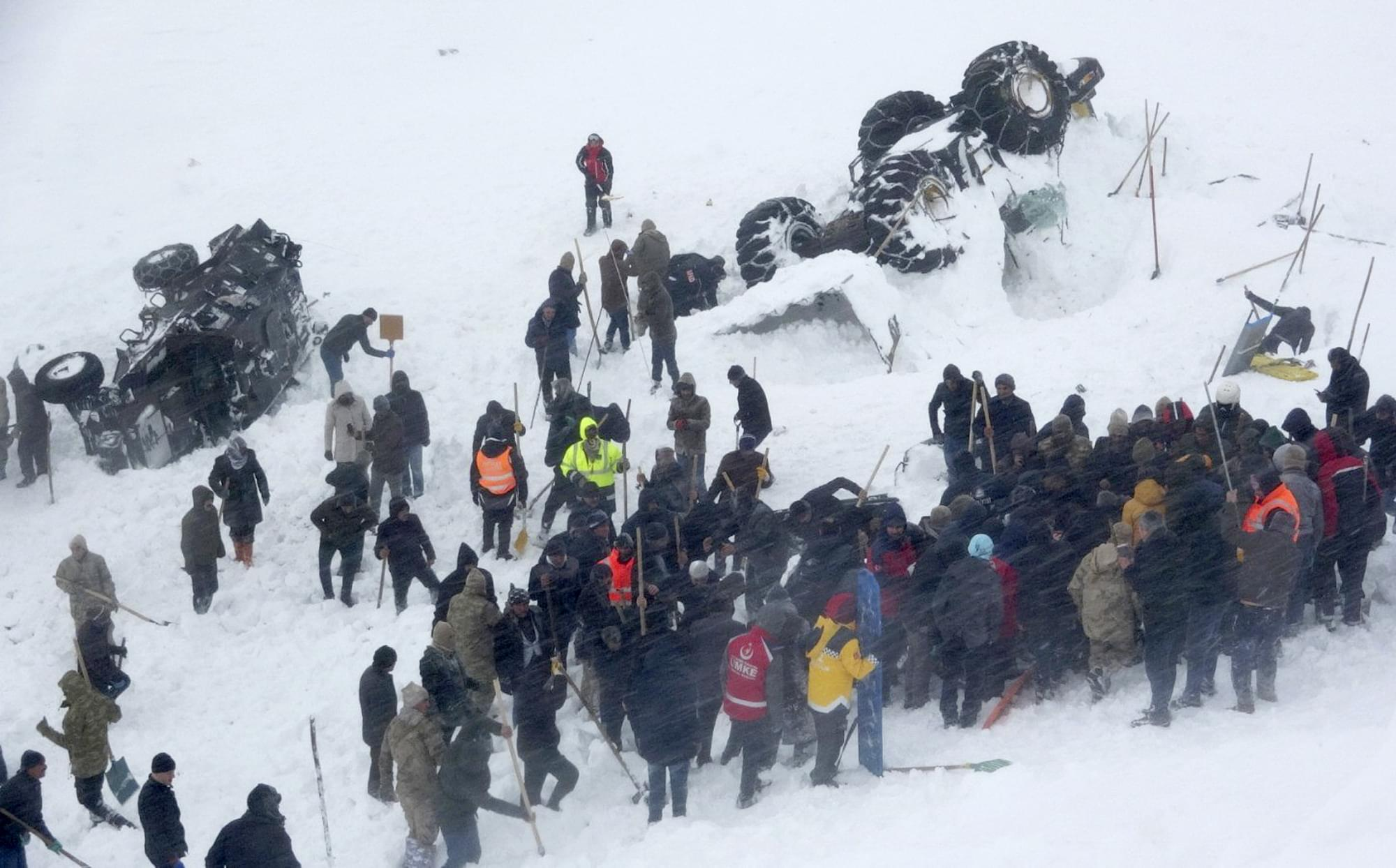 AVALANCHE: 33 people dead and 50 injured in Turkey