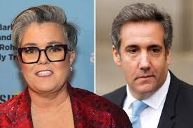 ROSIE O'DONNELL: Teamed Up With Michael Cohen on Trump Tell All Book