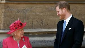 PRINCE HARRY: Does Lunch with the Queen