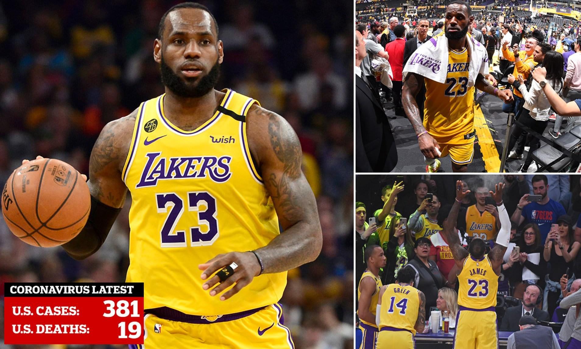 CORONAVIRUS: LeBron James Refuse to Play in Empty Gym