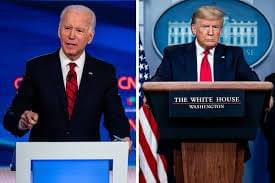 CORONAVIRUS: Trump and Biden Talk About Pandemic