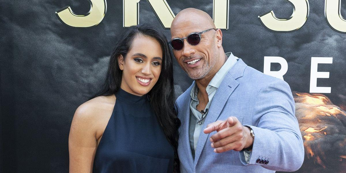 DWAYNE JOHNSON: Oldest Daughter Signs with WWE